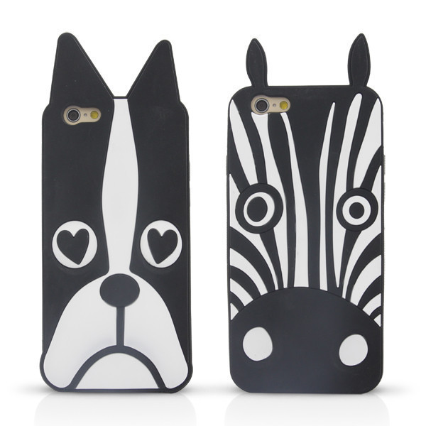 premium selection af389 e9c61 US $4.99 |In Stock Marc.Jacobs Cute Cartoon Animal Design Love  Dog/Zebra/Owl Soft Silicone Phone Case Cover For iPhone 6/6 Plus Case Coque  on ...