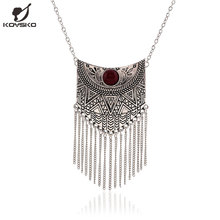 Ethnic steampunk collier collares maxi statement femme necklaces pendant necklace vintage