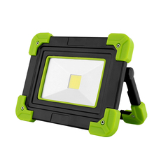 Portable USB Rechargeable LED Work Lamp COB Waterproof Emergency Portable Spotlight Rechargeable Floodlight For Hunting Camping