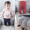 Warm Winter Baby Kids Boys Girls Infants Casual Solid knitting Loose Velvet Thicken Full Length Long Pants Trousers