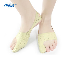 2 ชิ้นเท้าบรรเทาอาการปวดยืด Bent Hallux Valgus Corrector Thumb Valgus Protector Toe Separator Bunion Adjuster Feet Care(China)