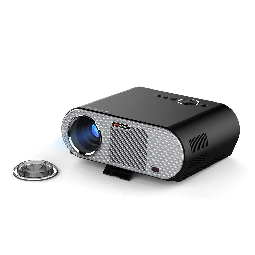 VIVIBRIGHT GP90 LCD Projector 3200 Lumen Projector Home Theater Full HD 1080P Projector Video Movie Proyector Support Android OS