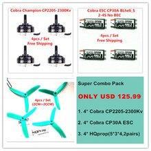 Cobra Motor CP2205 2300 Motor Super Combo pack for Mini font b drone b font Fpv