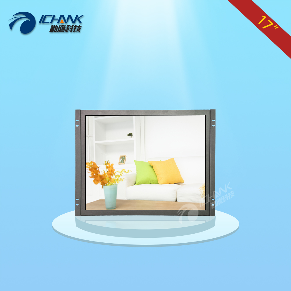 ZK170TN-V59/17 inch 1280x1024 BNC HDMI VGA Metal Case Embedded Open Frame Wall-mounted Remote Control Monitor LCD Screen Display zk080tn lr 8 inch 1024x768 bnc vga hdmi metal case open embedded frame industrial medical equipment monitor lcd screen display
