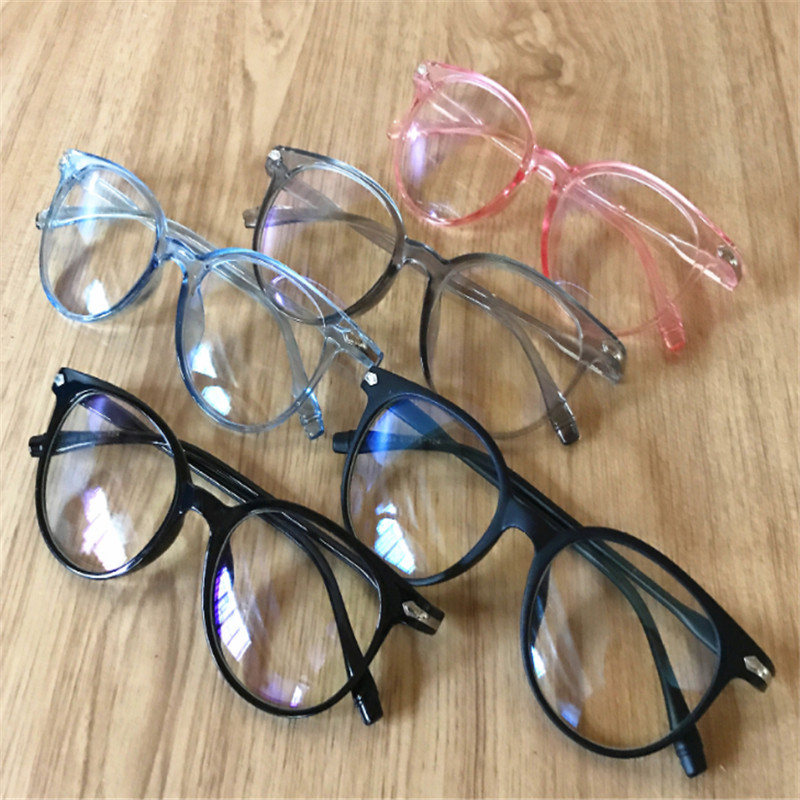 Blue Light Blocking Spectacles Anti Eyestrain Decorative Glasses Light Computer Radiation Protection Eyewear(China)