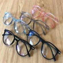Синие световые блокирующие очки, анти-напряжение, декоративные очки, легкие компьютерные лучевые защитные очки