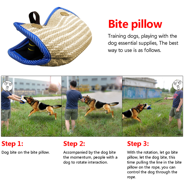 Dog Bite Sleeve Jute Arm Protection