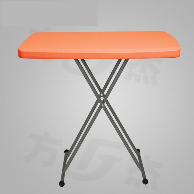 foldable computer table simple folding table height adjustable