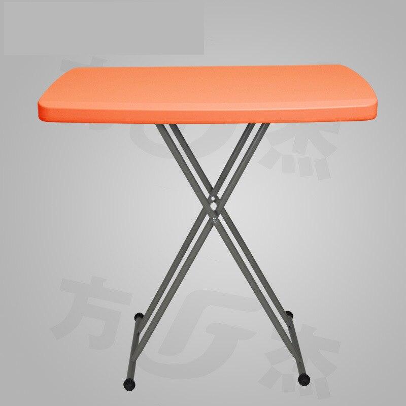 Pliable Table D'ordinateur Simple table Pliante Hauteur Réglable À Manger Étude Bureau D'ordinateur Portable Table Stand Plateau Pour Canapé Lit Noir