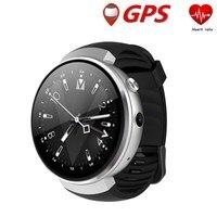 Smartwatch z28 4G MTK6737 1,39 дюйма Носимых устройств reloj Интеллектуальный сердечного ритма 1 ГБ + 16 ГБ памяти с Камера gps WI FI PK LEM7