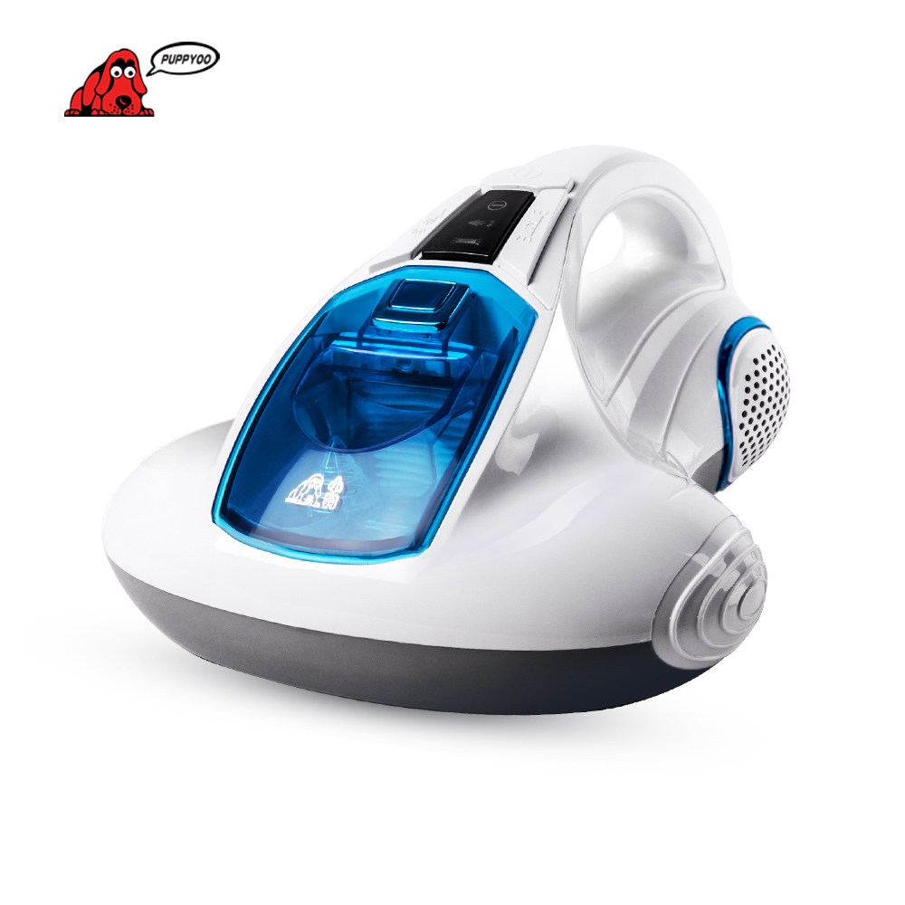 PUPPYOO Vacuum Cleaner Bed Home Collector UV Acarus Killing Household Vacuum Cleaner for Home  Mattress Mites-Killing WP601 puppyoo mini mattress uv vacuum cleaner for home free shipping aspirator bed cleaning appliances mites killing collector wp606