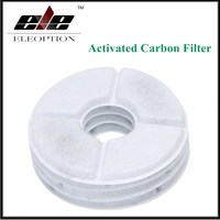 2 Pcs Lot Activated Carbon Filter For Flower Style Automatic Cat Dog Kitten Water Drinking Fountain