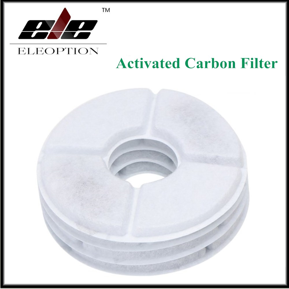 4 pcs/lot Activated Carbon Filter For Flower Style Automatic Cat Dog Pet Water Drinking Fountain