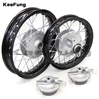 Front and Rear 1.6 x 10 10 inch Aluminium Alloy Wheel Rims Drum Brake hub for KTM CRF Kayo BSE Apollo Axle hole 12mm