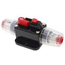 80 100 150A Car Audio Circuit Breaker Manual Reset Switch Fuse Holder for Car Vehicle Automobiles цена