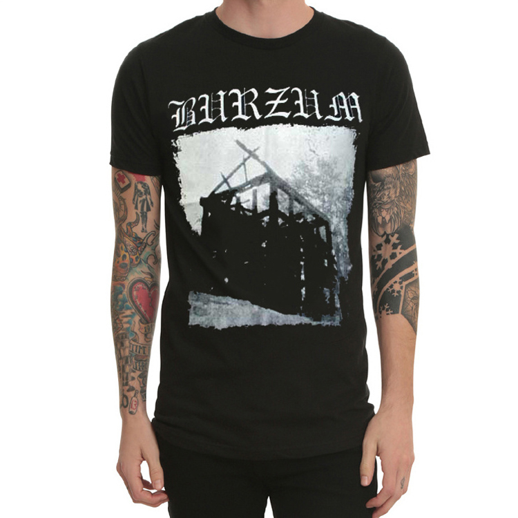 Burzum varg vikernes Band Men's Music T Shirt-in T-Shirts ...