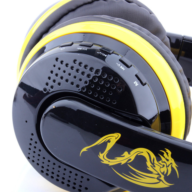 Desxz MX666 Bluetooth Auriculares  Game Gaming Headphone Wireless Stereo Super Bass Headset Headband Earphone with Microphone