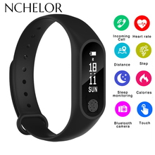 2018 NEW M2 Smartwatch Waterproof Sport Watch Best Gift Heart Rate Step Count 100% NEW Sports bracelet Smart Wristband with Box