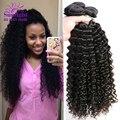 Brazilian Deep Wave Virgin Hair Brazillian Curly Hair 3Pcs Rosa Hair Products Brazilian Virgin Deep Curly Brazilian Virgin Hair