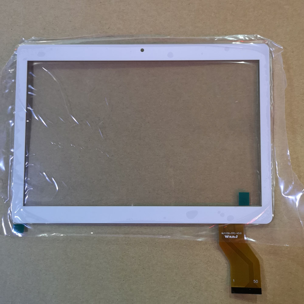 10.1 Inch WJ1230-FPC-V3.0 Tablet Pc Capacitive Touch Screen Digitizer Glass Replacement Parts WJ1230 FPC V3.0 White