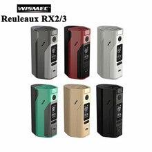 Original Electronic Cigarette Wismec Reuleaux RX2/3 TC 150W/200W Box Mod Vape RX2 3 RX23 Vaproizer VS RX 200 RX200S E Cigarette