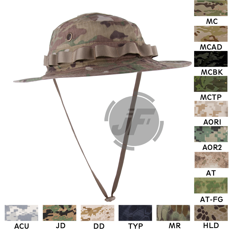 Emerson Tactical Military Boonie Hat Emesongear Outdoor Hunting Fishing Hats  Headwear Multicam MC df62e4f08287