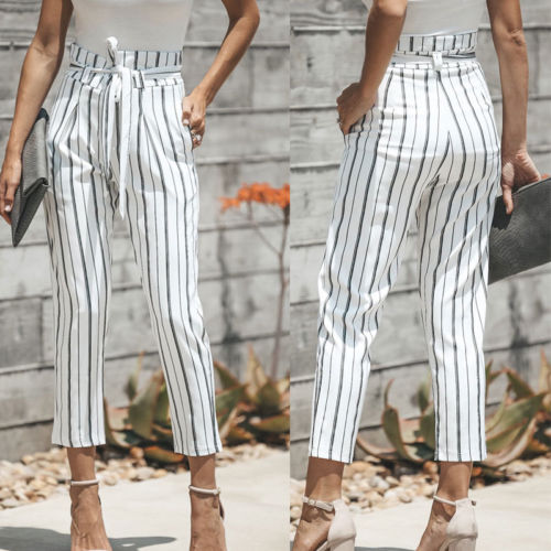 25a5639d68e54 Detail Feedback Questions about 2018 new Women striped Loose High ...