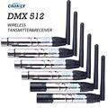 DMX512 Draadloze Zender Ontvanger Verlichting Controller 2.4G ISM Communicatie Afstand 300M voor Stage PAR Party Verlichting DMX
