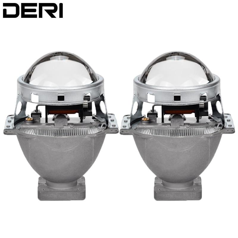 3 0 inch HID Bi Xenon Projector Lens Headlight Retrofit Lenses Q5 Kit For D1S D2S