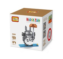 LOZ 9509 Hayao Miyazaki Cartoon Movie Totoro Diamond Bricks Minifigures Building Block Compatible with Legoe