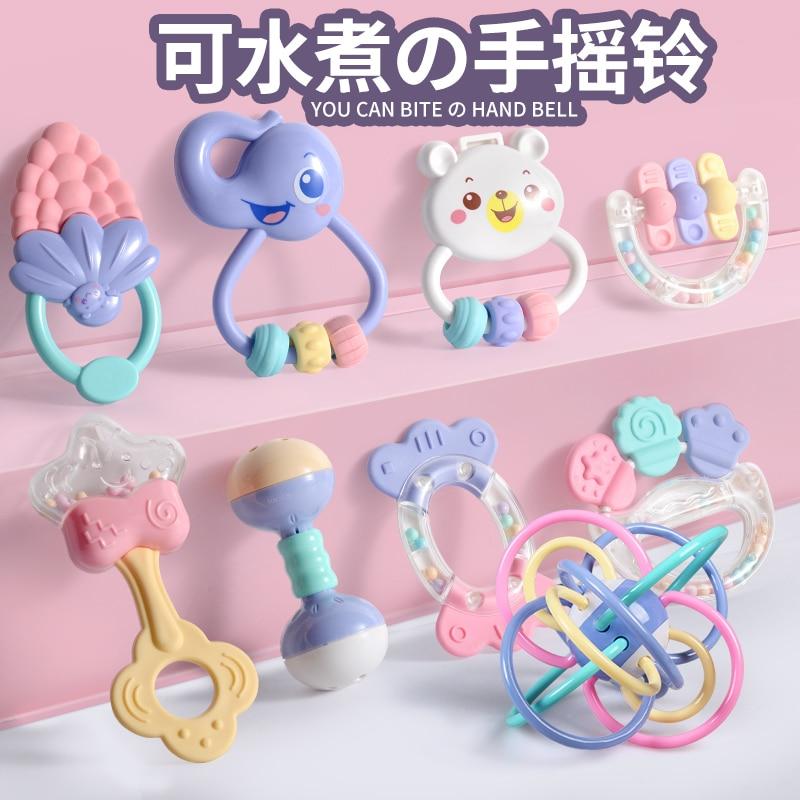 baby toys educational for children oyuncak rattles girls baby 0 12 13 24 months kids newborn toddler infant in Baby Rattles Mobiles from Toys Hobbies