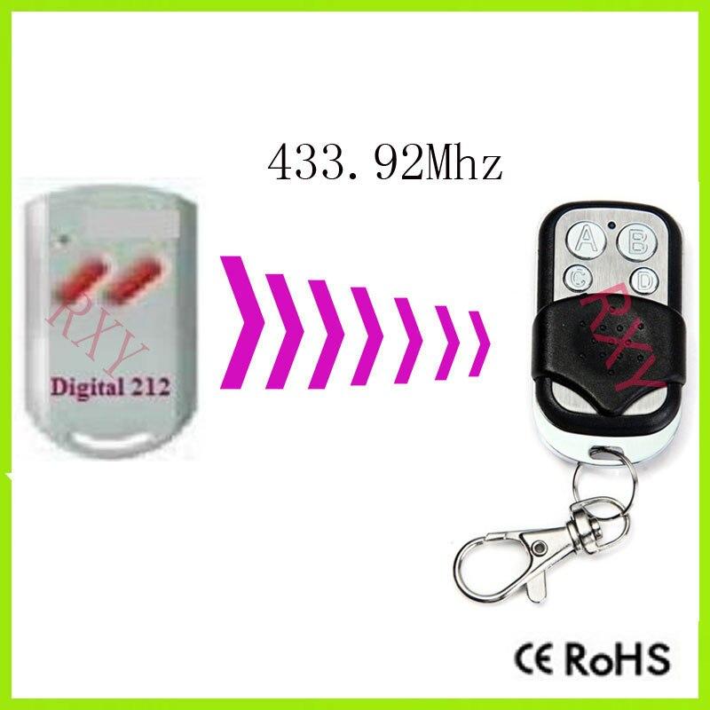 Duplicatore Marantec Digitale 212 telecomando porta del garage con batteria