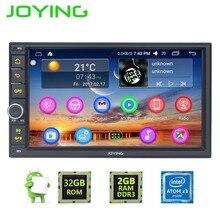 """7 """"Joying Quad Core Podwójne Din 2 GB + 32 GB Uniwersalny Android 6.0 Radio Samochodowe Audio Stereo GPS Radio nawigacja Multimedia Player"""
