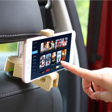 Car Hooks Cell Phone Holder for Accessories Storage Hidden Headrest Seat Back Hanger Organizer Mount