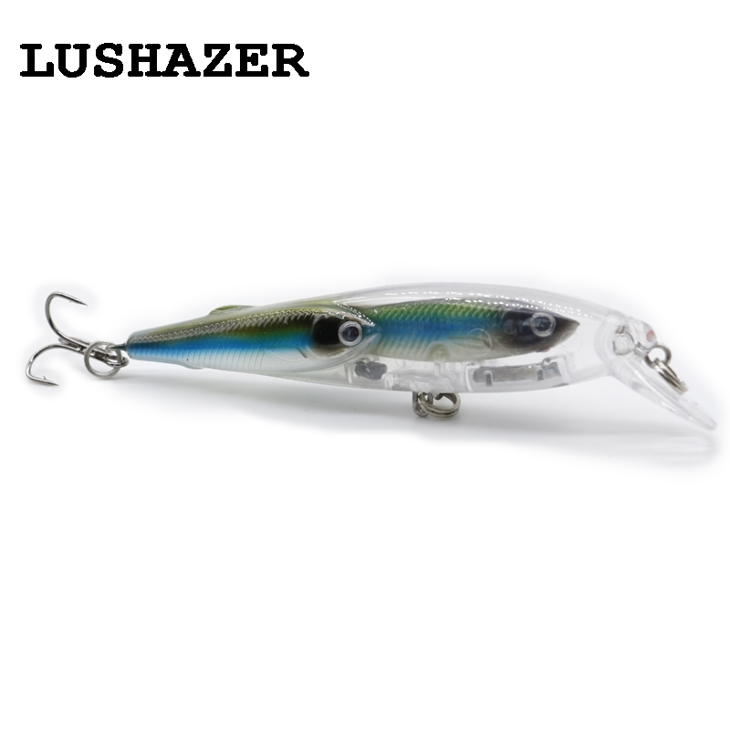 LUSHAZER Minnow Fishing lure 10g 100mm fishing bait wobblers isca artificial crankbait fishing baits China carp hard lure wldslure 1pc 54g minnow sea fishing crankbait bass hard bait tuna lures wobbler trolling lure treble hook