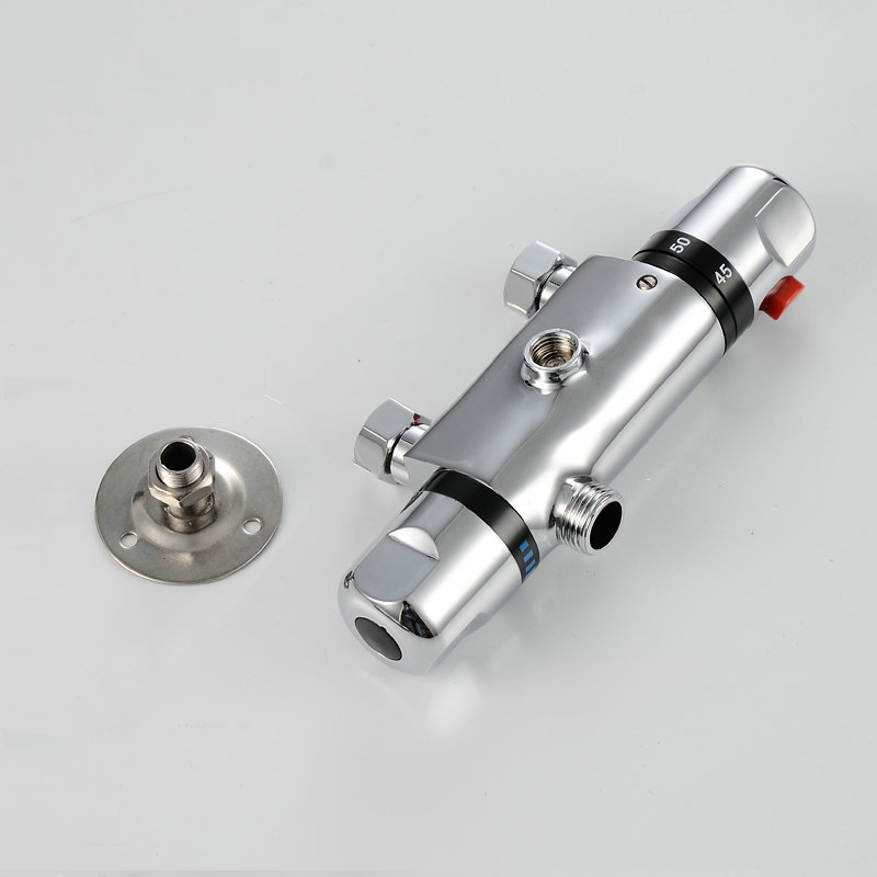 Temperature Control Thermostatic Shower Valve Faucet Mixer Tap Wall ...