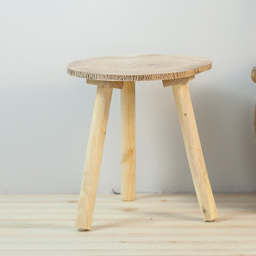 Fantastic Knock Down Round 3 Legs Natural Pine Wood Small Side Table Alphanode Cool Chair Designs And Ideas Alphanodeonline