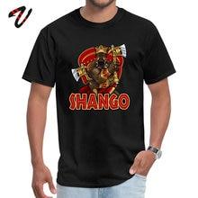 Casual T-shirts Slim Fit Men Tshirt O-Neck Shango Pure Cotton Atheist Adult Tops Shirt X Files Sleeve T Shirts Wholesale