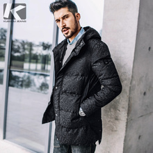Big Sale Winter Mens Casual Parkas Camouflage Hooded Thick Black Brand Clothing For Man s Slim