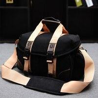 Fashion Canvas DSLR Camera Bag Shoulder Messenger Bag For Nikon DSLR D3500 D3200 D3300 D7200 D5200