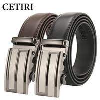CETIRI 2017 Leather Belt Men Designer Belts Hollow Out Men High Quality Male Genuine Leather Strap