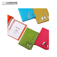 DUH Leather Rectangle Photo Frame Supplies Daily Necessities Small Gift Valentine's Day Gifts Animal Era Photo Album