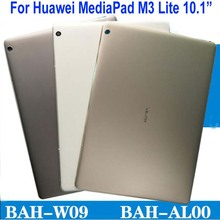 """10.1 """"Copertura Posteriore Della Batteria Per Huawei MediaPad M3 Lite 10 BAH AL00 BAH W09 BAH L09 Sportello Posteriore Custodia Borsette Tablet di ricambio"""
