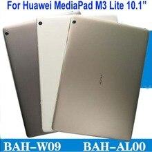 """10.1 """"bateria de volta capa para huawei mediapad m3 lite 10 BAH AL00 BAH W09 BAH L09 porta traseira habitação caso escudo tablet substituição"""