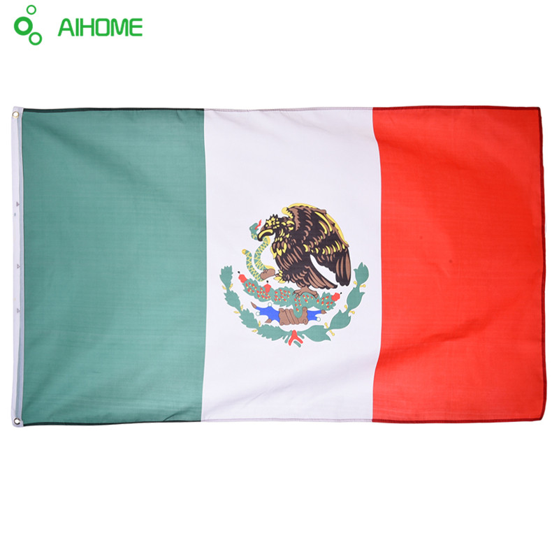 <font><b>Mexico</b></font> Flags Festival Party Home Decor Office Flags Banner for Activity Parade the <font><b>Olympic</b></font> Games European <font><b>Cup</b></font> <font><b>World</b></font> <font><b>Cup</b></font>