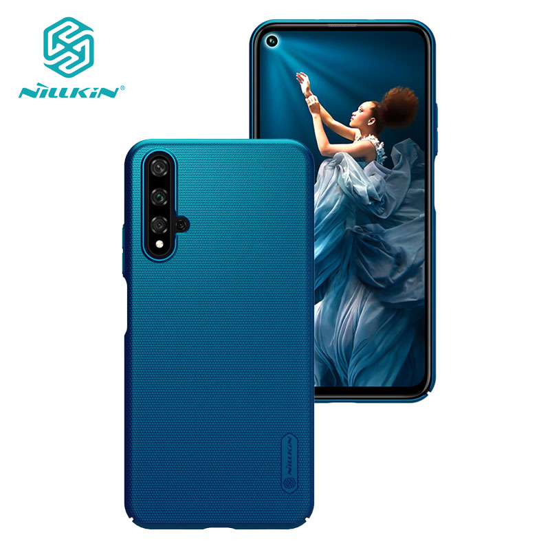 Honor 20 Case NILLKIN Frosted Shield PC Hard Back Cover Case for Huawei Honor 20 20S Honor20 Pro Nova 5T Casing 6.26''
