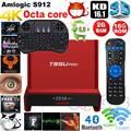 S912 Chycet T95U PRO Amlogic Octa núcleo Android 6.0 Smart TV Box 2 GB/16 GB Wi-fi Dual Band Kodi H.265 4 K media Player Set top box