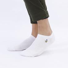 PIER POLO Summer Men Thin Mesh Breathable Cotton Short Socks Solid Color Casual Dress Mens Brand High Quality 5Pairs/Lot