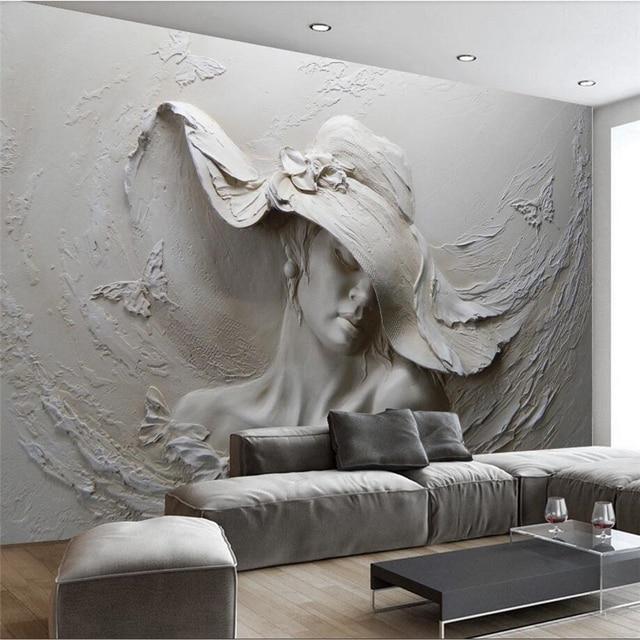 Stunning papier peint 3d gallery - Papier peint relief ...