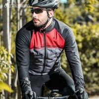 Santic новые зимние куртки для велоспорта сохраняющие тепло с длинными рукавами Джерси для защиты от ветра Мужская одежда для велосепидистов